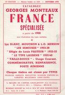 Catalogue Specialise - Timbres Types - 1970 - 120 Pages - Frais De Port 2€ - Philatélie Et Histoire Postale