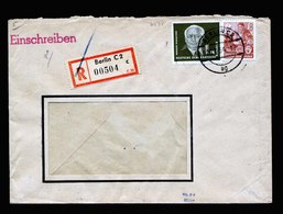 A5391) DDR R-Brief Berlin 26.7.54 N. Neukieritzsch Sign. Müller - DDR