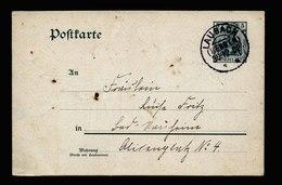 A5392) DR Karte Laubach KOS-Stempel 30.12.02 Mit Gebrannter Abbildung - Deutschland