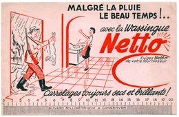 Buvard Netto, La Wassingue Record. Entretien, Serpillière. - Wash & Clean