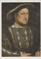 Postcard - Art - King Henry VIII (1491-1547) - After Holbein - VG - Postcards