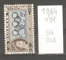 Bahamas, Année 1964, Surchargé Jeux Olympiques - Bahamas (1973-...)