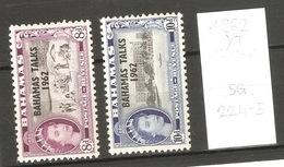 Bahamas, Année 1962, Surchargé BAHAMAS TALKS - Bahamas (1973-...)