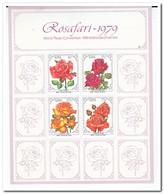 Zuid Afrika 1979, Postfris MNH, Flowers, Roses - Ongebruikt