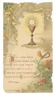 Image Pieuse Première Communion, E. Vincent, 1900 - Images Religieuses