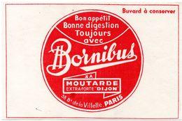 Buvard Bornibus, Moutarde De Dijon. - Moutardes