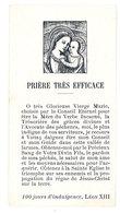 Image Pieuse, Prière, Avé Maria, Notre-Dame Du Bon Conseil à Sagne, Diocèse De Nice - Images Religieuses