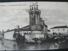 1918.PADOVA..GO FROM MILITAR STATION OF ARQUATA SCRIVIA GO TO PARIS./ PADOVA..OSSERVATORIO ASTRONOMICO - Padova (Padua)