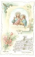 Image Pieuse, Première Communion, . Jonquier, Ollioules 1897 - Images Religieuses