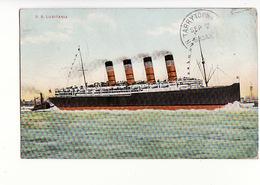 Paquebot S.S. Lusitania / Editions HEL N°178 - Paquebots