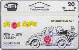 TWK Österreich Privat: 'Autoverleih Flott' Gebr. - Austria