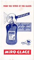 Buvard Miro-glace, Pour Vos Vitres Et Vos Glaces. Lion Noir. - Wash & Clean