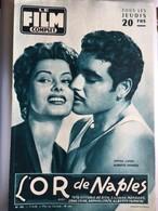 Mon Le Film Complet L'or De Naples Sophia Loren Alberto Farnese  4eme De Couverture Kim Novak - Journaux - Quotidiens