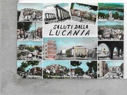 CARTOLINA VG ITALIA - Saluti Dalla LUCANIA - Vedutine - MUltivue - 10 X 15 - ANN. 1966 METAPONTO - Unclassified