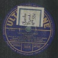 """78 Tours - MAX DUNAND  - ULTRAPHONE 504  """" LA VALSE A DUDULE """" + """" LA FAUBOURIENNE """" - 78 T - Disques Pour Gramophone"""