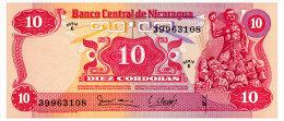 NICARAGUA 10 CORDOBAS 1979 Pick 134 Unc - Nicaragua