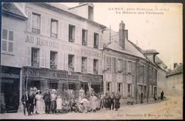 """95  CERGY Près PONTOISE  """"AU RENDEZ-VOUS Des PECHEURS"""" Tenu Par Boussardon - Cergy Pontoise"""