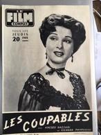 Mon Le Film Complet Les Coupables Amedeo Nazzari Silvana Pampanini 4eme De Couverture Pierre Cressoy - Journaux - Quotidiens