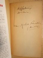 Dédicace 1949 De Jean-Michel RENAITOUR Sur Roman PASSIONS TROPICALES - Livres Dédicacés