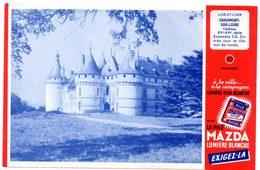 Buvard Piles Mazda, Chateau De Chaumont Sur Loire N°10 - Accumulators