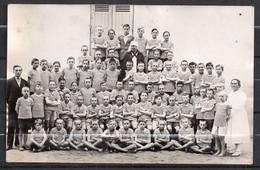 CARTE PHOTO - SOUVENIR DE MINDIN EN 1932 - MAISON DEPARTEMENTALE DE CONVALESCENCE - PHOTO L'OCEAN St BREVIN L'OCEAN. - Saint-Brevin-l'Océan