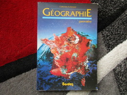 """Géographie """"Première"""" / éditions Bordas De 1988 - Books, Magazines, Comics"""
