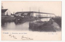 Vilvoorde: Correction, Vue Du Canal. - Vilvoorde