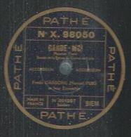 "78 Tours - FREDO GARDONI  - PATHE 98050  "" GARDE-MOI "" + "" AU BAL MUSETTE "" - 78 T - Disques Pour Gramophone"