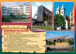 73210871 Bad_Salzelmen St. Johanniskirche Gradierwerk Reha-Klinik Bad_Salzelmen - Schoenebeck (Elbe)