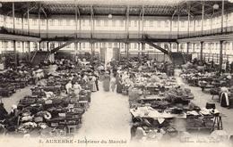 AUXERRE INTERIEUR DU MARCHE - Auxerre