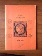 POTHION J. - CAT. FRANCE OBLITERATIONS 1849/1876 (SANS PARIS) - EDIT. 1985 AVEC INDICES - TB - - France