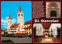 73211261 Moosburg_Isar St Kastulus Kirche Portal Innenansicht Moosburg Isar - Deutschland