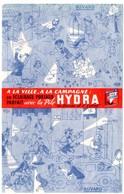 Buvard Piles Hydra, La Durée Et L'éclat. - Piles