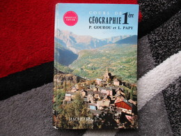"""Cours De Géographie Première """"Spécimen"""" (P. Gourou Et L. Papy) éditions Hachette De 1965 - Books, Magazines, Comics"""