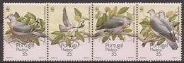 MADERE 1991 Y&T 150 à 153 Neufs ** Le Pigeon Trocaz - WWF / Columba Trocaz - W.W.F.