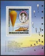 Haute-Volta, BF N° 22** Y Et T, Bloc-feuillet, Aérostat, Piccard, Bicentenaire Premières Ascensions - Upper Volta (1958-1984)