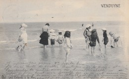 Wenduyne ,Wenduine ,    Les Enfants à La Mer  ( Nels , N° 5 ) - Wenduine