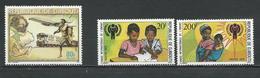 DJIBOUTI Scott 497, 489-490 Yvert 503, 495-496 (3) ** Cote 5,00 $ 1979 - Djibouti (1977-...)