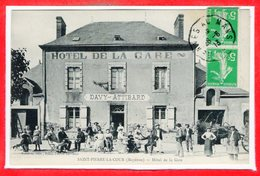 53 - SAINT PIERRE La COUR --  Hôtel De La Gare - Autres Communes