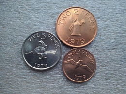 Guernsey  1 - 5  Pence   1979    UNC - Guernsey