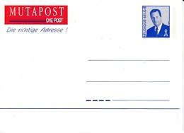 BELGIUM BELGIE BELGIQUE 1996 Albert II Postcard #22240 - Stamped Stationery