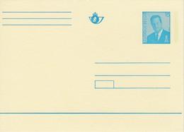 BELGIUM BELGIE BELGIQUE Albert II Postcard #22241 - Stamped Stationery