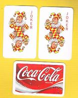 (037) - 3 Cart Joker, CocaCola - (voir Scaner) - Coca-Cola