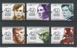 Portugal 2017, Star Wars - Compl. Satz -  Postfrisch / MNH / (**) - 1910-... Republic