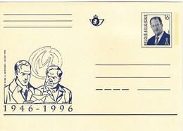 BELGIUM BELGIE BELGIQUE Albert II Postcard #22243 - Stamped Stationery