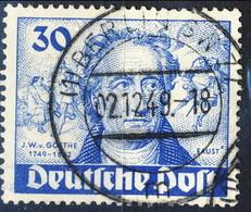 Berlino 1949 Serie N. 53 Usati Cat. € 50 - Gebraucht