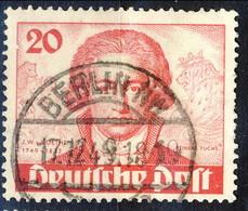 Berlino 1949 Serie N. 52 Usati Cat. € 70 - Gebraucht