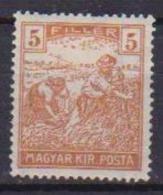 UNGHERIA  1920-23  ORDINARIA MAGYAR KIR.POSTA YVERT. 287 MLH VF - Ungheria