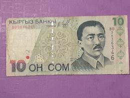Kirghistan 10 Som 1997 P14 Circulé - Kyrgyzstan