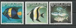 DJIBOUTI Scott 521-523 Yvert 527-529 (3) ** Cote 5,50 $ 1981 - Djibouti (1977-...)